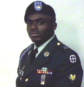 Darrell, as a member of the U.S. Army.